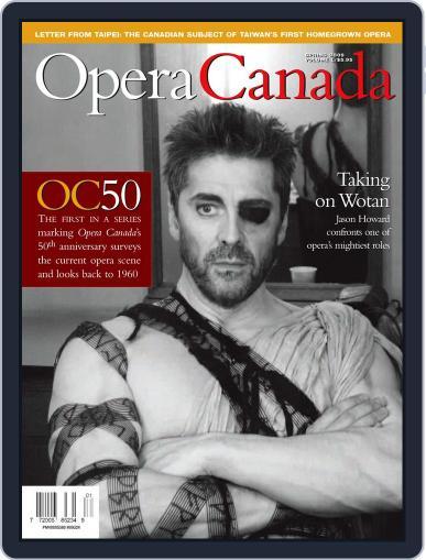Opera Canada (Digital) July 15th, 2011 Issue Cover