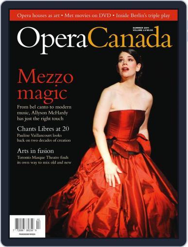 Opera Canada (Digital) June 22nd, 2011 Issue Cover