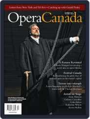 Opera Canada (Digital) Subscription June 25th, 2010 Issue