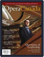 Opera Canada (Digital) Subscription January 6th, 2010 Issue