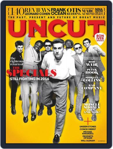 UNCUT November 1st, 2016 Digital Back Issue Cover