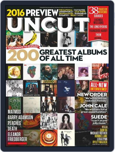 UNCUT December 29th, 2015 Digital Back Issue Cover