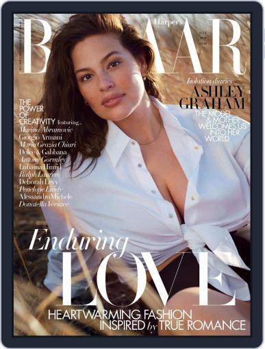 Harper's Bazaar UK July 1st, 2020 Digital Back Issue Cover