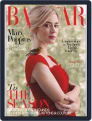 Harper's Bazaar UK (Digital) Subscription January 1st, 2019 Issue