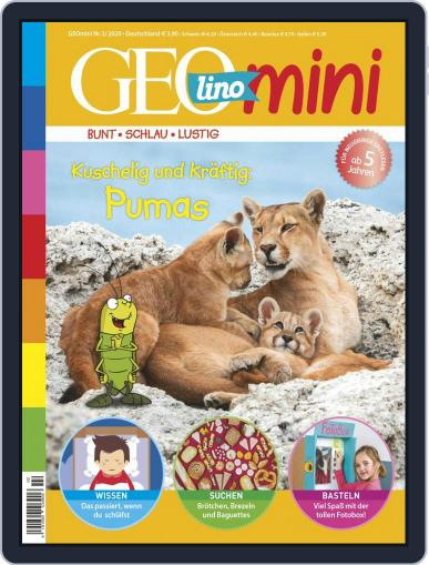 GEOmini (Digital) February 1st, 2020 Issue Cover