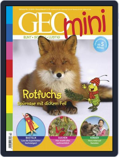 GEOmini (Digital) December 2nd, 2019 Issue Cover