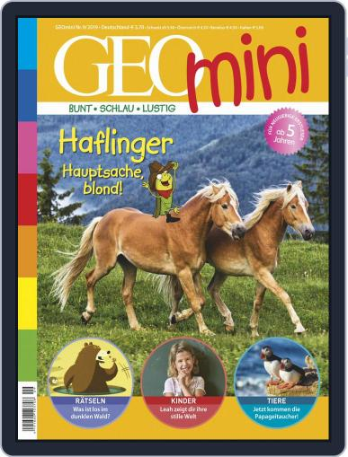 GEOmini (Digital) September 1st, 2019 Issue Cover