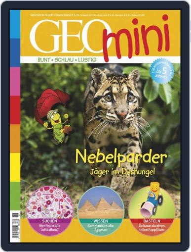 GEOmini (Digital) June 1st, 2019 Issue Cover