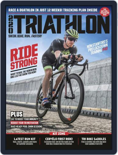 220 Triathlon (Digital) August 1st, 2020 Issue Cover