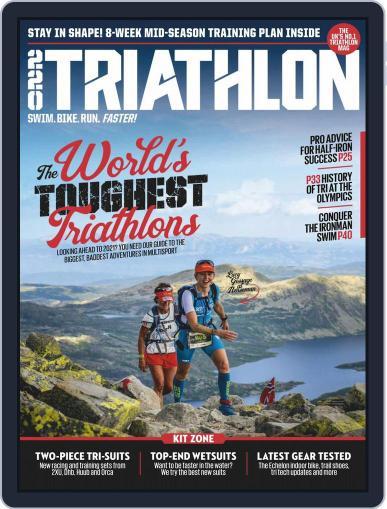 220 Triathlon (Digital) July 1st, 2020 Issue Cover