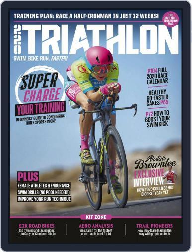 220 Triathlon (Digital) April 1st, 2020 Issue Cover