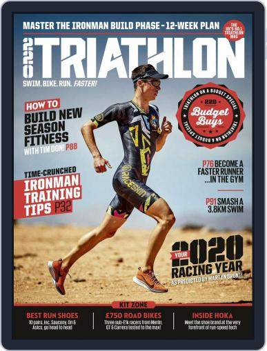 220 Triathlon (Digital) March 1st, 2020 Issue Cover