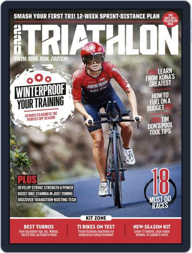 220 Triathlon (Digital) February 1st, 2020 Issue Cover