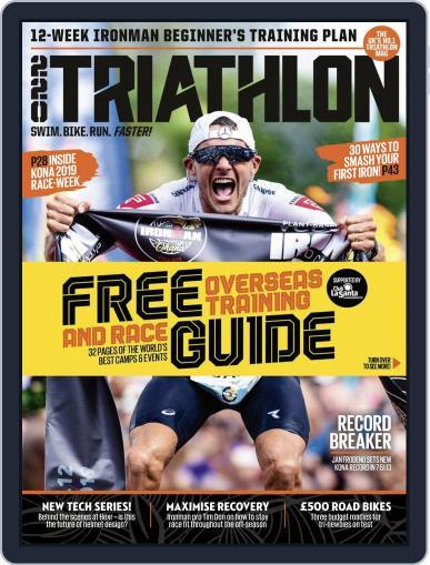 220 Triathlon (Digital) December 1st, 2019 Issue Cover