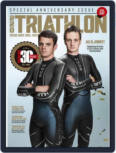 220 Triathlon (Digital) September 1st, 2019 Issue Cover