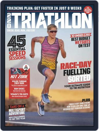 220 Triathlon (Digital) July 1st, 2019 Issue Cover