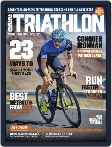 220 Triathlon (Digital) June 1st, 2019 Issue Cover