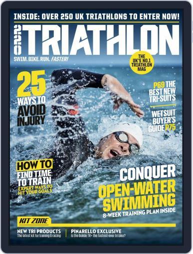 220 Triathlon (Digital) May 1st, 2019 Issue Cover