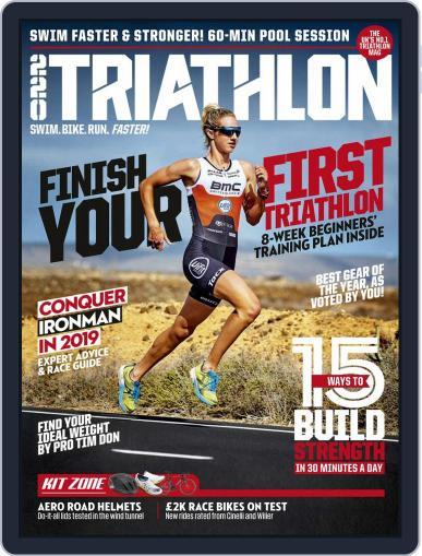 220 Triathlon (Digital) February 1st, 2019 Issue Cover