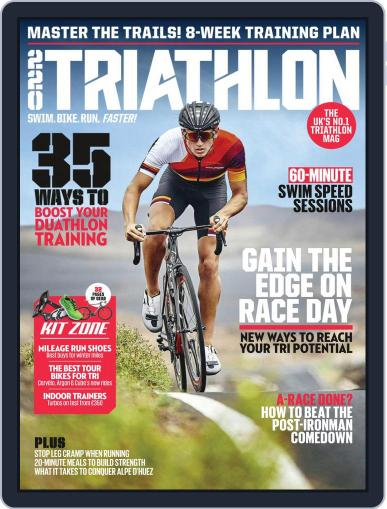 220 Triathlon (Digital) October 1st, 2018 Issue Cover