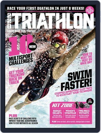 220 Triathlon (Digital) September 1st, 2018 Issue Cover