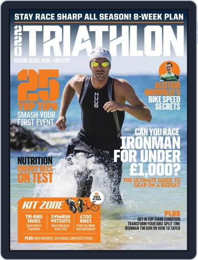 220 Triathlon (Digital) August 1st, 2018 Issue Cover