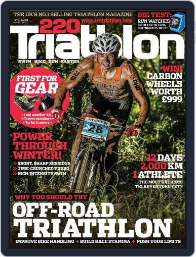 220 Triathlon (Digital) January 1st, 2016 Issue Cover