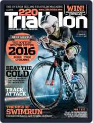 220 Triathlon (Digital) Subscription November 1st, 2015 Issue