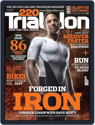 220 Triathlon (Digital) July 23rd, 2015 Issue Cover