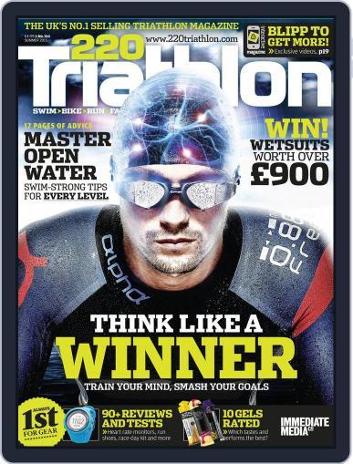220 Triathlon (Digital) June 22nd, 2015 Issue Cover