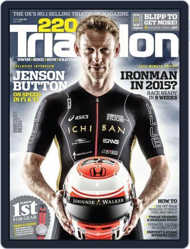 220 Triathlon (Digital) June 3rd, 2015 Issue Cover
