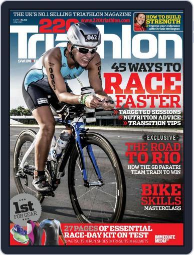 220 Triathlon (Digital) May 14th, 2015 Issue Cover