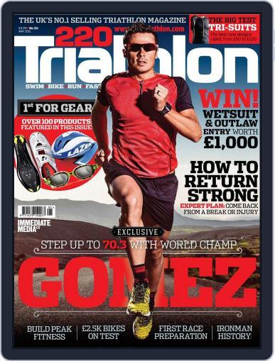 220 Triathlon (Digital) April 13th, 2015 Issue Cover