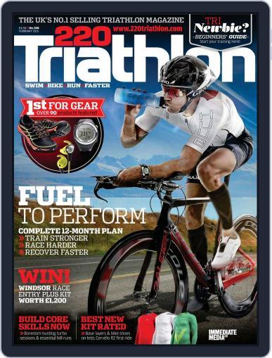 220 Triathlon (Digital) January 20th, 2015 Issue Cover
