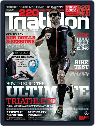 220 Triathlon (Digital) December 29th, 2014 Issue Cover