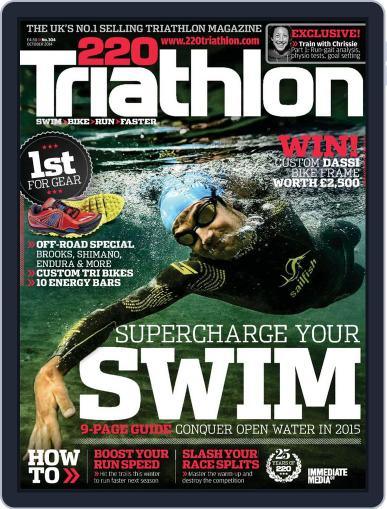220 Triathlon (Digital) September 15th, 2014 Issue Cover