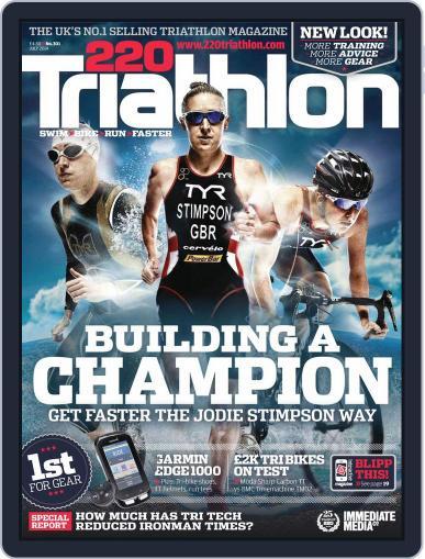 220 Triathlon (Digital) June 23rd, 2014 Issue Cover