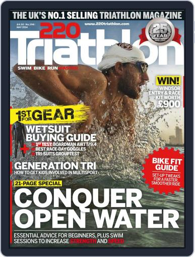 220 Triathlon (Digital) April 1st, 2014 Issue Cover