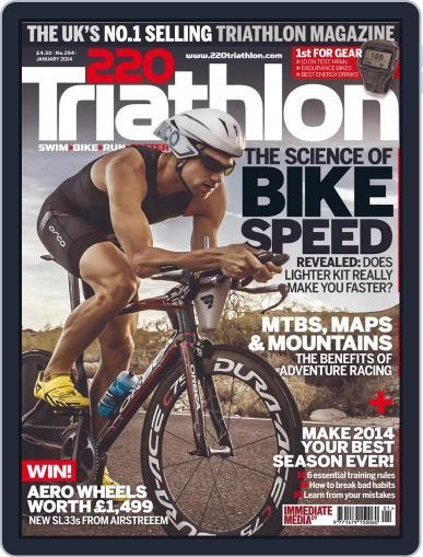 220 Triathlon (Digital) December 10th, 2013 Issue Cover