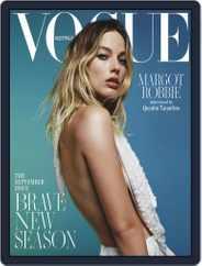 Vogue Australia (Digital) Subscription September 1st, 2019 Issue
