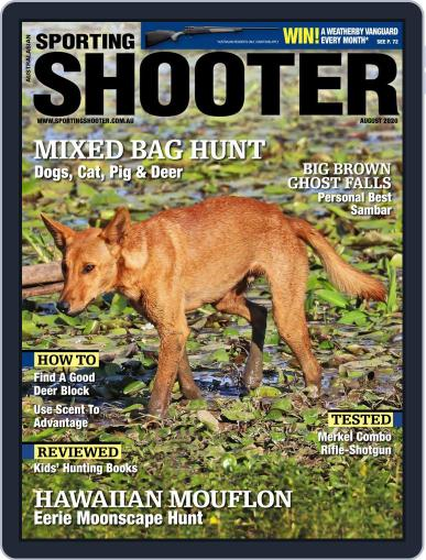 Sporting Shooter August 1st, 2020 Digital Back Issue Cover