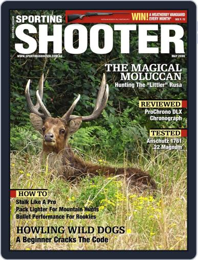 Sporting Shooter May 1st, 2020 Digital Back Issue Cover