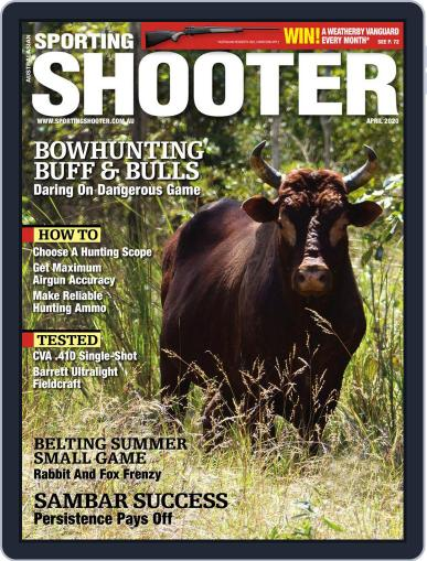 Sporting Shooter April 1st, 2020 Digital Back Issue Cover