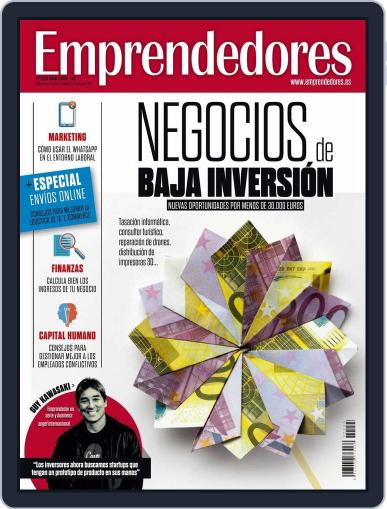 Emprendedores March 22nd, 2016 Digital Back Issue Cover