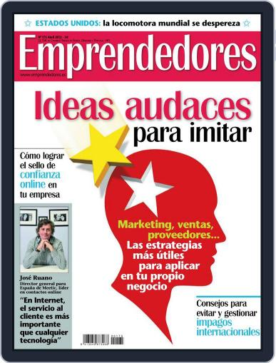 Emprendedores March 26th, 2012 Digital Back Issue Cover