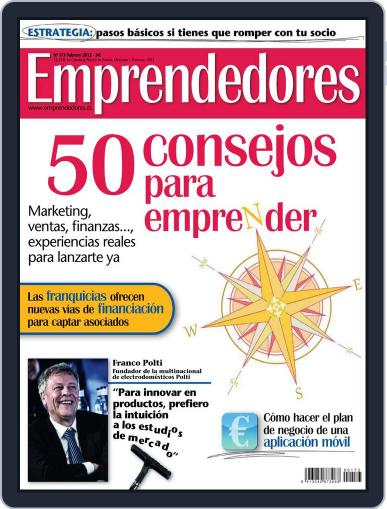 Emprendedores January 26th, 2012 Digital Back Issue Cover