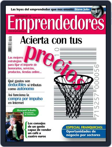 Emprendedores October 26th, 2011 Digital Back Issue Cover