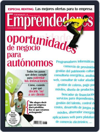 Emprendedores August 25th, 2011 Digital Back Issue Cover