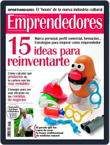 Emprendedores July 29th, 2011 Digital Back Issue Cover