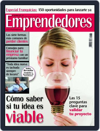 Emprendedores April 27th, 2011 Digital Back Issue Cover